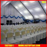 Il tessuto di alluminio Event_Large esterno del PVC mette in mostra le tende con figura curva 30m da 35m