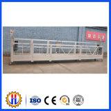 Plate-forme suspendue par mur externe électrique de construction de construction de Zlp