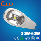 Luz de rua elevada do diodo emissor de luz dos lúmens 30W do poder superior
