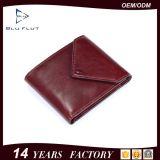 Превосходное портмоне владельца карточки карманн монетки муфты неподдельной кожи качества