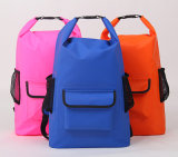 500d PVC Waterproof Dry Backpack Bags mit external Pocket (YKY7309)