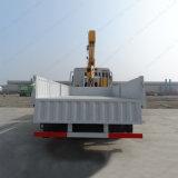 grúa montada carro telescópico hidráulico del cargo de la grúa del auge 10tons para la venta