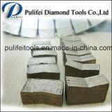 Этап вырезывания сляба гранита резца диаманта для каменного автомата для резки