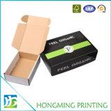 Таможня лоснистой картонной коробки слоения складной упаковывая