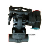 ANSI 800lb 1500lb 2500lbは鋼鉄A105ゲート弁を造った