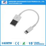 Кабель USB заряжателя данным по Sync оплетенного провода Pin OEM 8