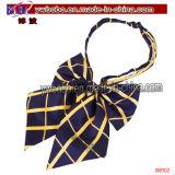 Personal de oficina de la corbata del telar jacquar Bowtie hecho punto Bowtie de seda (B8101)