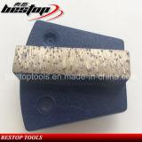 Sapato de moagem com concreto diamantado Werkmaster com segmento de barra única