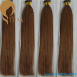 Indian Remy Double Drawn Pre Bonded Stick Tip Extensão do cabelo