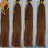 Prolonge indienne de cheveu de bâton de cheveux humains de Remy de vente d'usine mini