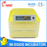 Incubatrice mini automatica di vendita calda Yz-96 dell'uovo di Hhd