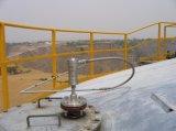 Tankstelle-SteuerSysytem magnetostriktives waagerecht ausgerichtetes Anzeigeinstrument