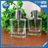 прозрачная квадратная стеклянная бутылка дух 30ml