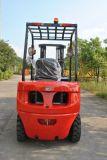 Forklift Diesel de 3 toneladas com 3 estágios 7 medidores de mastro