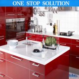 Pole Roter u. des Weiß-2 PAC Farbanstrich-Küche