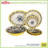 El servicio de mesa elegante material del diseño de la melamina rústica fijó en venta