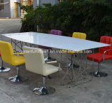 Corian Acrylic Custosm Sized Solid Surface Office Table