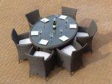セットを食事する6 Seater Bahamaの楕円形の藤