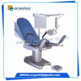 [مولتيفونكأيشن] كهربائيّة طبّ نسائيّ قابل للتعديل مسند ظهر فحص طاولة [جنكلوجكل] فحص كرسي تثبيت