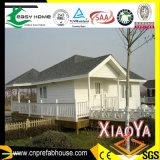 Casa de campo de aço clara Certificated CE para viver
