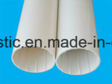 Drain spiralé intérieur de silence de mur creux de PVC-U