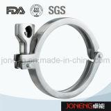 Raccords de tuyaux de serrage haute précision en acier inoxydable en acier inoxydable (JN-CL1003)