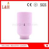 ugello di ceramica dell'obiettivo del gas dell'allumina del cannello per saldare di TIG 54n15