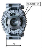 12V 100A Alternator voor Bosch Vauxhall Lester Lra03159 0124425026