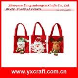Presente del sacchetto del feltro di natale della decorazione di natale (ZY14Y445-1-2-3 25CM)