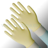 Перчатка работы для 9 «синтетических перчаток латекса с сертификатом УПРАВЛЕНИЕ ПО САНИТАРНОМУ НАДЗОРУ ЗА КАЧЕСТВОМ ПИЩЕВЫХ ПРОДУКТОВ И МЕДИКАМЕНТОВ