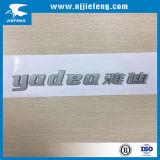 Резиновый эмблема знака логоса стикера значка