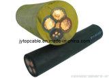 Cable flexible con cubierta de goma