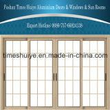 Portes coulissantes extérieures intérieures en aluminium de portes coulissantes