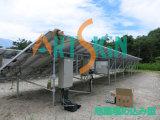 Система установки солнечной Систем-Террасы установки земная с гарантированностью 25years