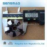 Подгонянный постоянный подковообразный магнит AlNiCo5 для мотора