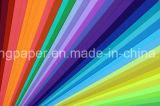 Pulpa de madera de lujo 100% original teñida papel del color Papel de Handmake