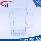 copo de vidro da cerveja do Sell 390ml quente com mão original (CHM8340)