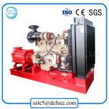 Pompa a più stadi centrifuga orizzontale del motore diesel del rifornimento idrico