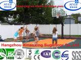 影響が大きいプラスチック取り外し可能なバスケットボールのスポーツのフロアーリング