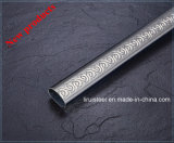 Tubo decorativo inoxidable del modelo del acero Embossing/L