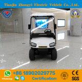 Zhongyi道の電池式の標準的なシャトルの卸売のための電気観光のゴルフ車を離れた6つのシート