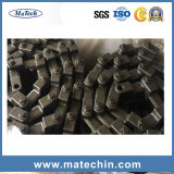 開いた精密合金鋼鉄は鍛造材のコンベヤーの鎖を停止する