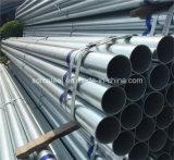 Pente soudée d'ASTM A135 une pipe en acier ronde
