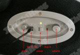 De blauwe Stoel van het Spel van de Wartel van de Computer van PC van de Tuimelschakelaar van de Tand met Sprekers