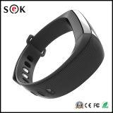 Bracelet intelligent de bracelet de m2 OLED Bluetooth de Pedometer imperméable à l'eau intelligent d'avis avec le moniteur du rythme cardiaque