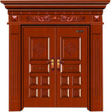Дверь твердой древесины, входные двери, внешняя дверь