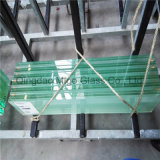 Tipo desobstruído folha do vidro de flutuador do vidro laminado com a película desobstruída de PVB