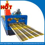 Feuille de toit de rouleau de fer ondulé faisant la machine
