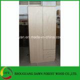Projeto simples do Wardrobe da mobília do baixo preço