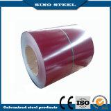 La couleur rouge de la pente Z60 de JIS G3312 CGCC a enduit la bobine d'une première couche de peinture en acier